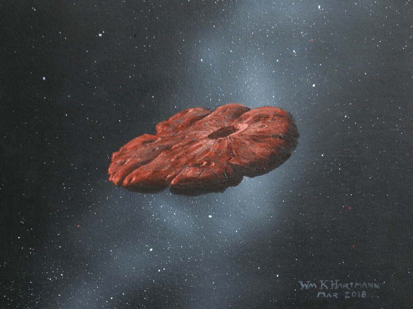 'Oumuamua has tumbled through interstellar space for millions of years.