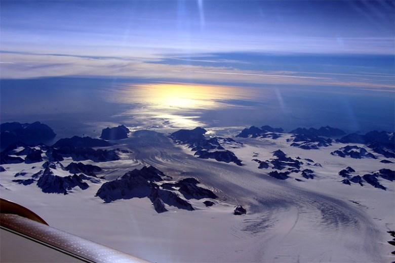 Photograph of Greenland's Steenstrup Glacier