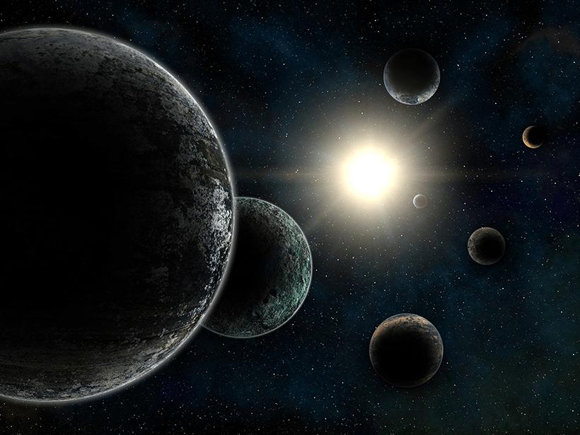 Planets near a star