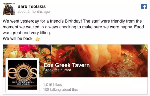 Barb Tsolakis Facebook review