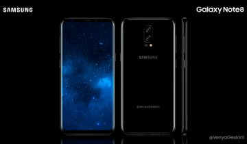 Galaxy Note 8 Concept Image