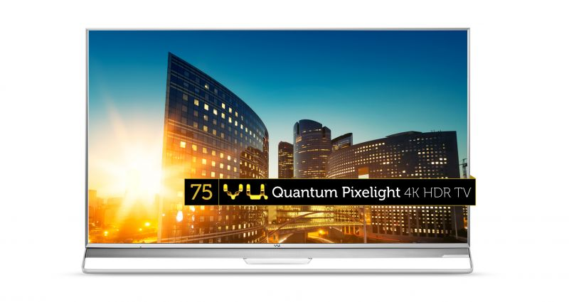 Vu 75-inch Quantum Pixelight 4K LED TV