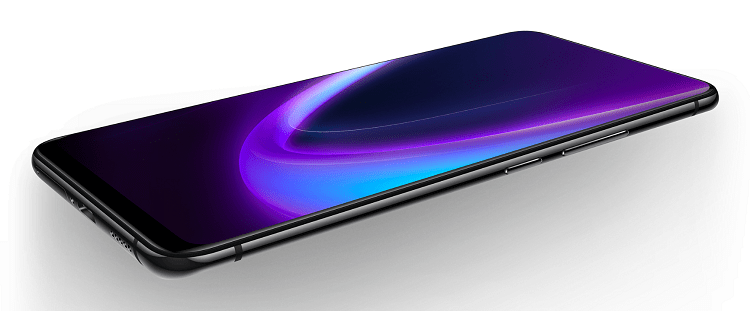 Vivo NEX is a bezel-less phone with a motorized pop-up camera