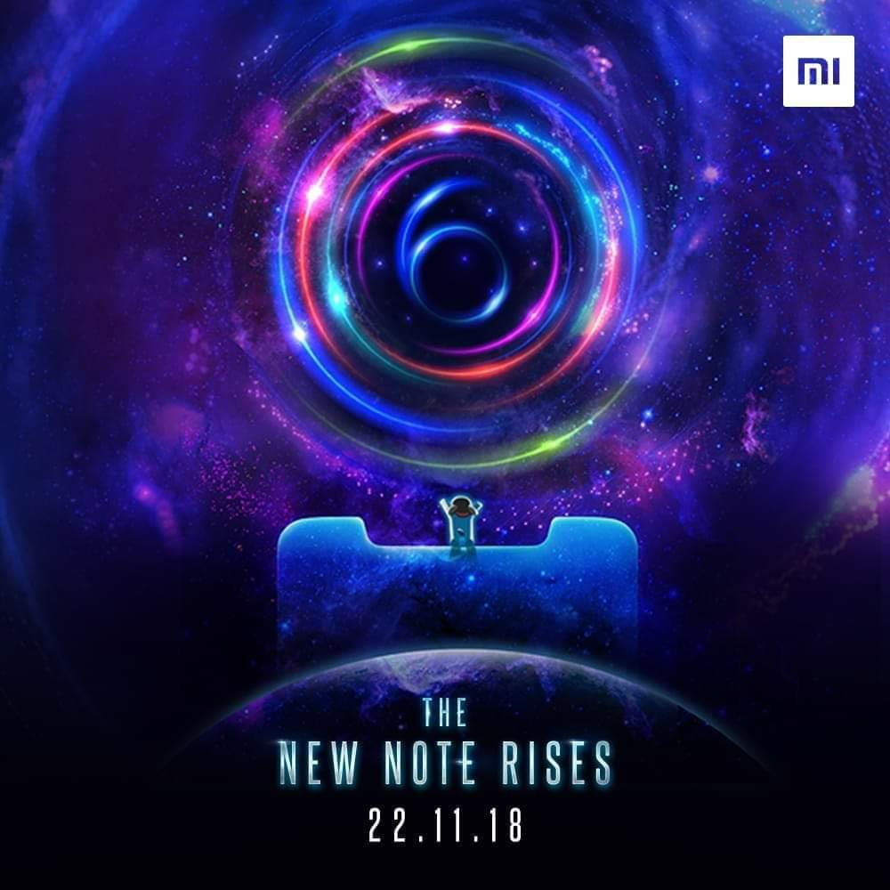 Xiaomi Redmi Note 6 Pro comes to India on November 22