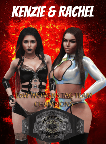 EoW Womens Tag Team Champions