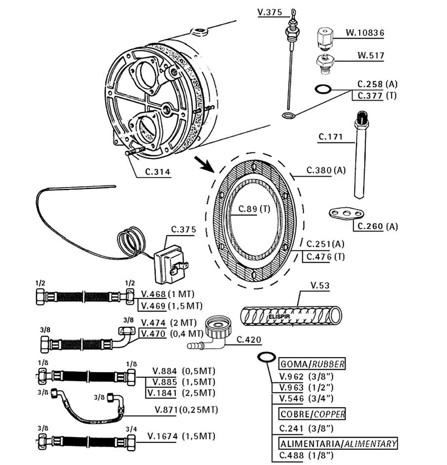 Boiler/Various La Cimbali