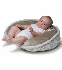 Boppy Pillow with Luxe Slipcover - Elephant Snuggle