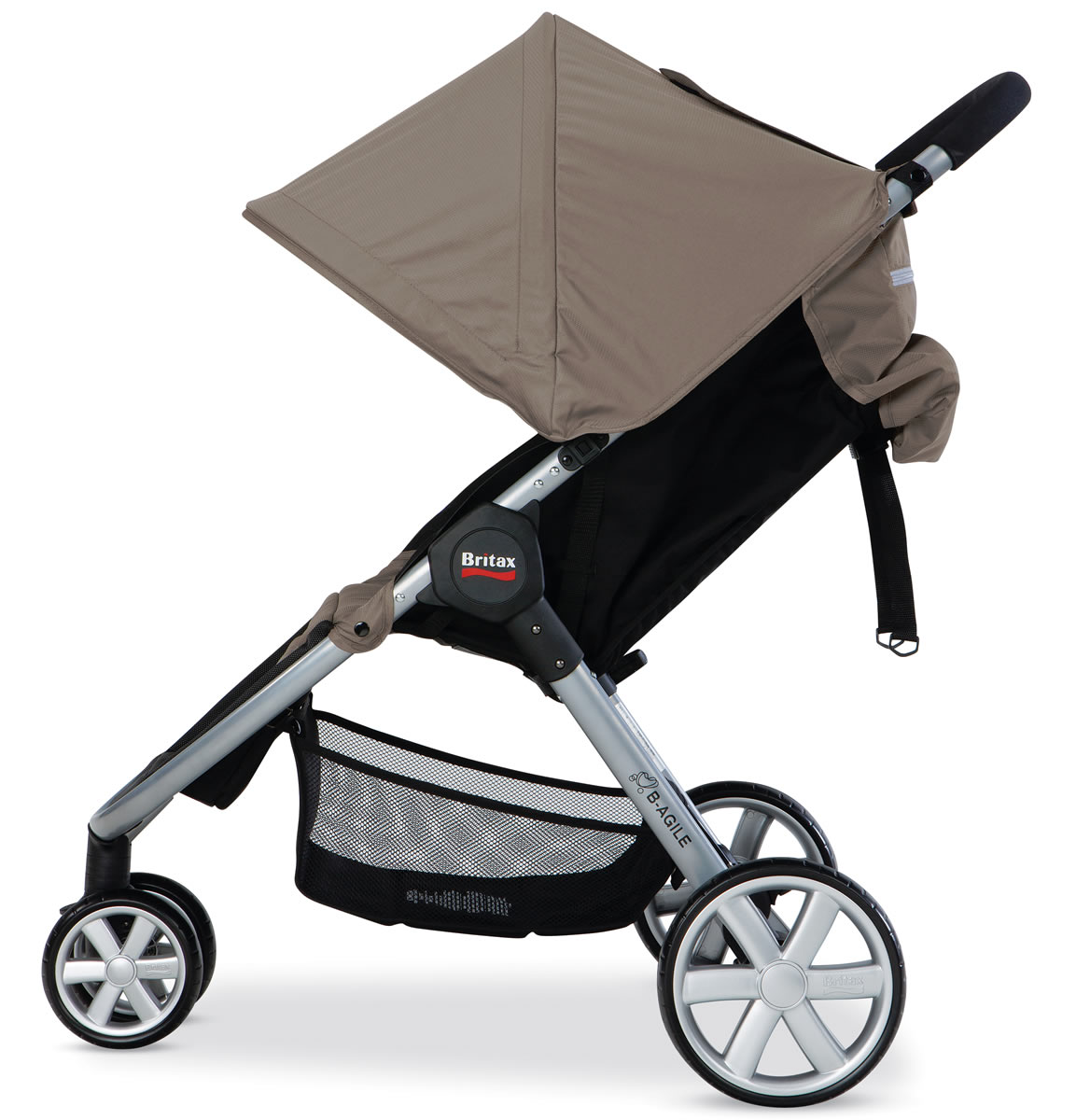 the b agile stroller from britax is a lightweight compact