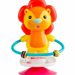 High Chair Suction Toys Dining Chairs Nailhead Trim Bumbo Toy - Luca The Lion