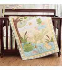 Carter's 4 Piece Crib Bedding Set - In the Pond
