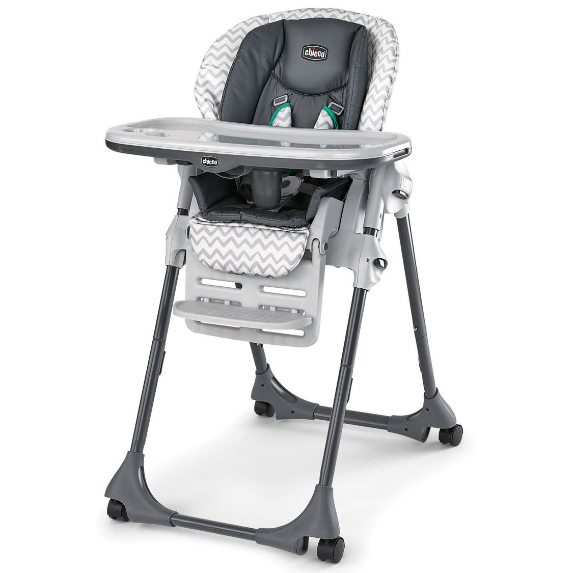 High Chairs Chicco Polly Double Pad Highchair Empire