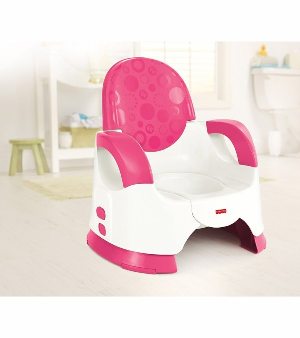 Fisher-Price Pink Potty Babies