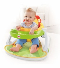 Fisher price sit me up floor seat with tray uk