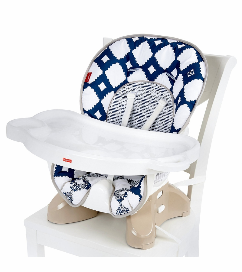 fisher price spacesaver high chair chairs for less fisher-price - navy