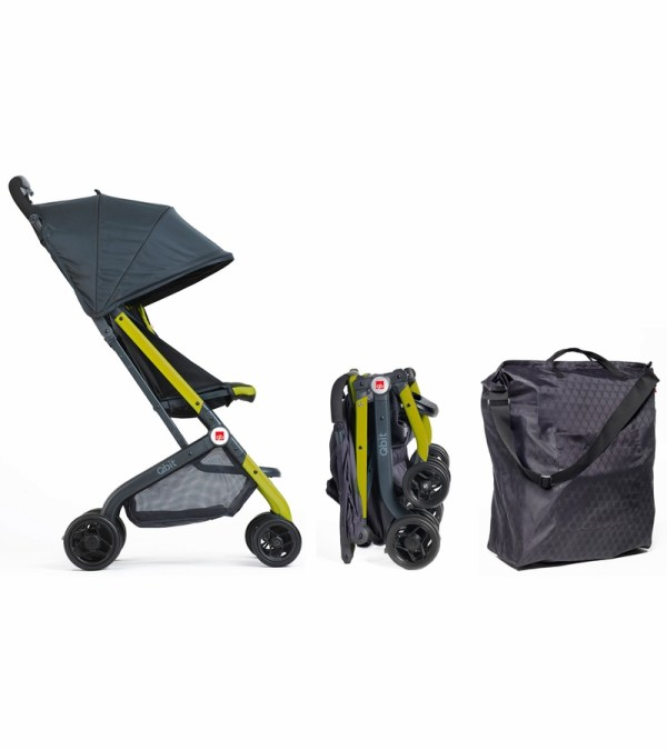 Gb Qbit Travel Stroller - Citrus