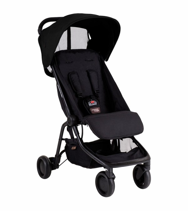 Mountain Buggy Nano Travel Stroller - Black