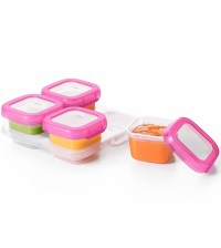 OXO Tot Baby Blocks Freezer Storage Containers, 4 oz