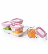 OXO Tot Glass Baby Blocks, 4 oz