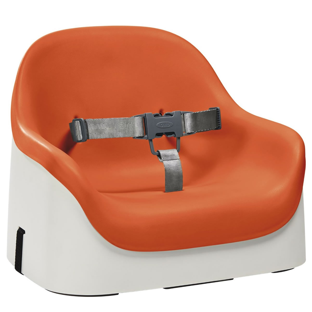 booster seat high chair antique folding chairs oxo tot nest orange