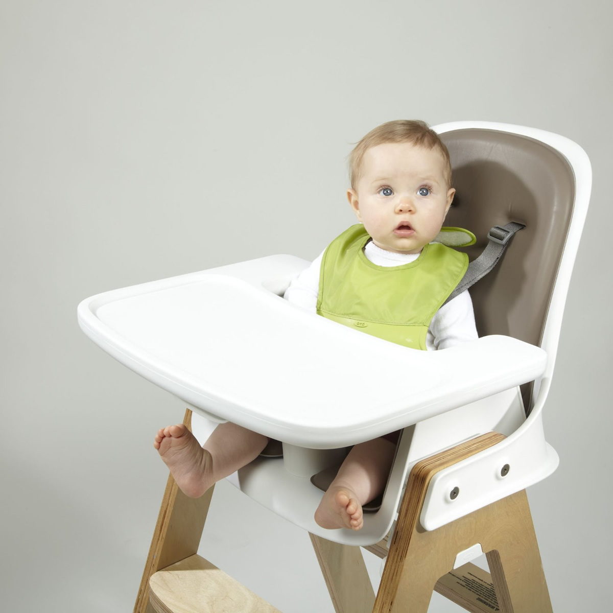 albee baby high chair bedroom brown oxo tot roll up bib green