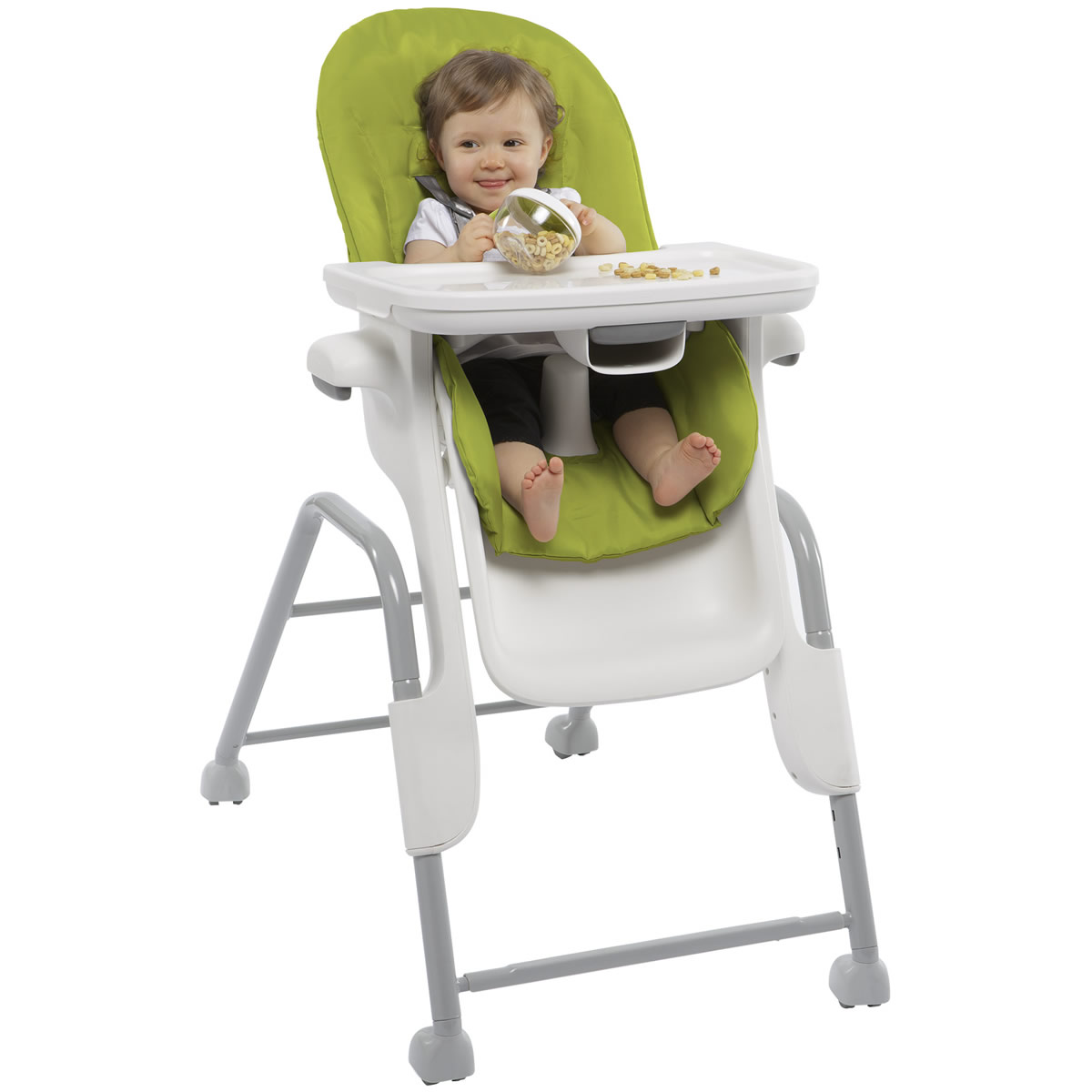 albee baby high chair cover and sash hire birmingham oxo tot seedling green