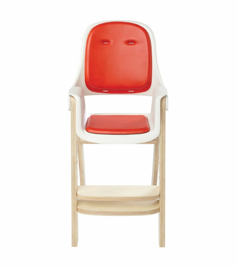 oxo tot sprout high chair nice sitting room chairs - orange/birch