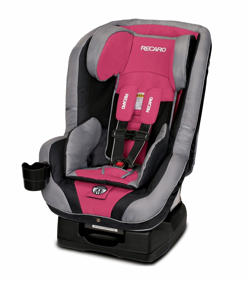Recaro Performance Ride Convertible Car Seat Rose