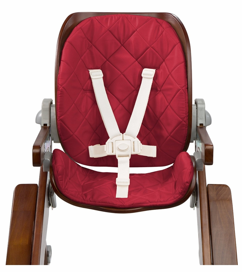 Summer Infant Bentwood High Chair Seat Set  Cranberry