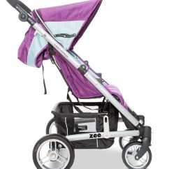 Behind The Chair Promo Codes Power Batteries U1 Valco Zee Single Stroller - Wisteria