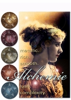 25% OFF Weekly Sale through 11:59 PM PST 3/12! ~ ALCHEMIE metallic lustre eyeshadows - vegan/cruelty free