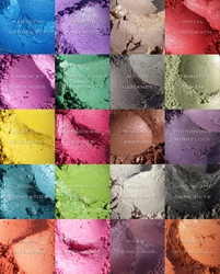 "25% OFF Weekly Sale through 11:59 PM PST 12/25! ~ ""EVER IN YOUR FAVOR"" eyeshadows inspired by The Hunger Games trilogy"