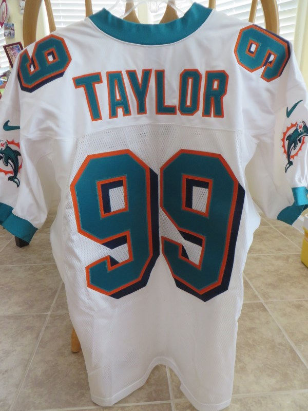 Jason Taylor Miami Dolphins authentic Nike team issued