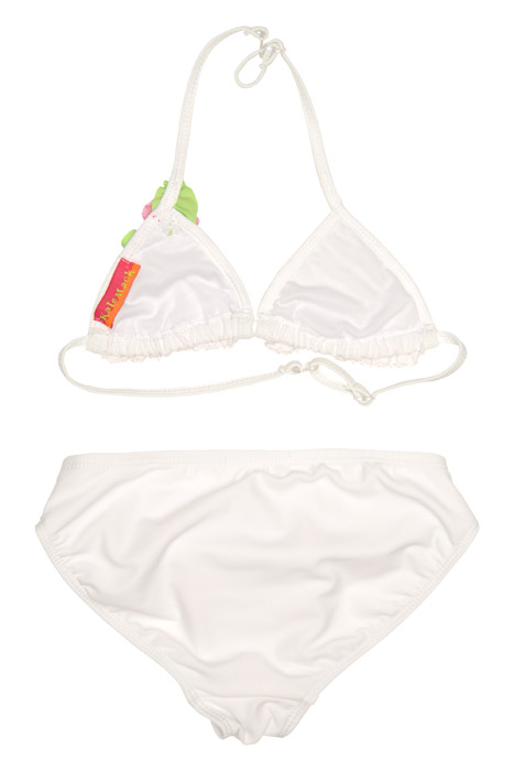 Kate Mack Girls White Lace Bikini Swimsuit