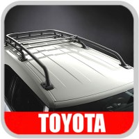 Toyota Genuine Parts 63494-0E010 Left Rear Roof Rack End ...