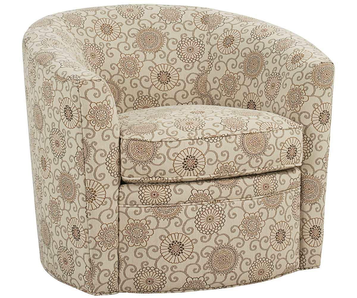 swivel club chair active sitting desk round tub with fabric upholstery furniture