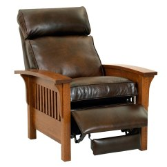 Wood Recliner Chair How To Clean A Leather Aldrich Club Furniture