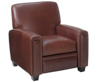 Leather Living Room Recliner Chair | Club Furniture