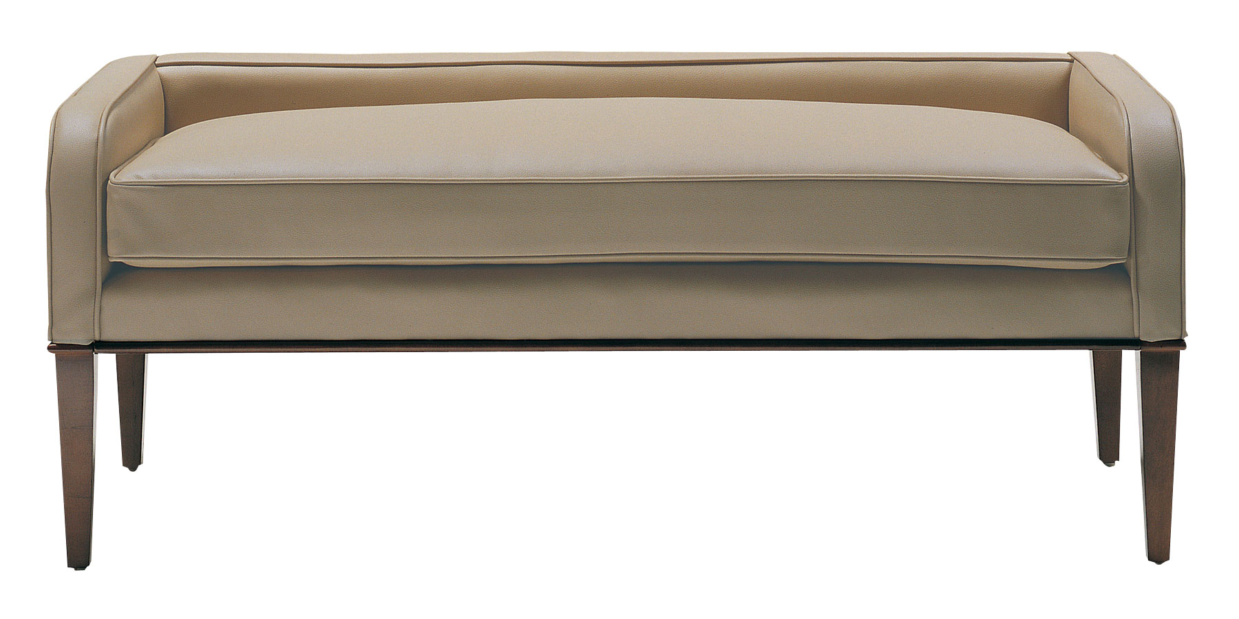 Leander Designer Style Leather Bench Ottomans Amp Benches
