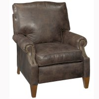 "Julius ""Designer Style"" Push Back Leather Reclining Chair ..."