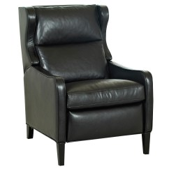Reclining Club Chair Posture Task Tall Back Leather Recliner