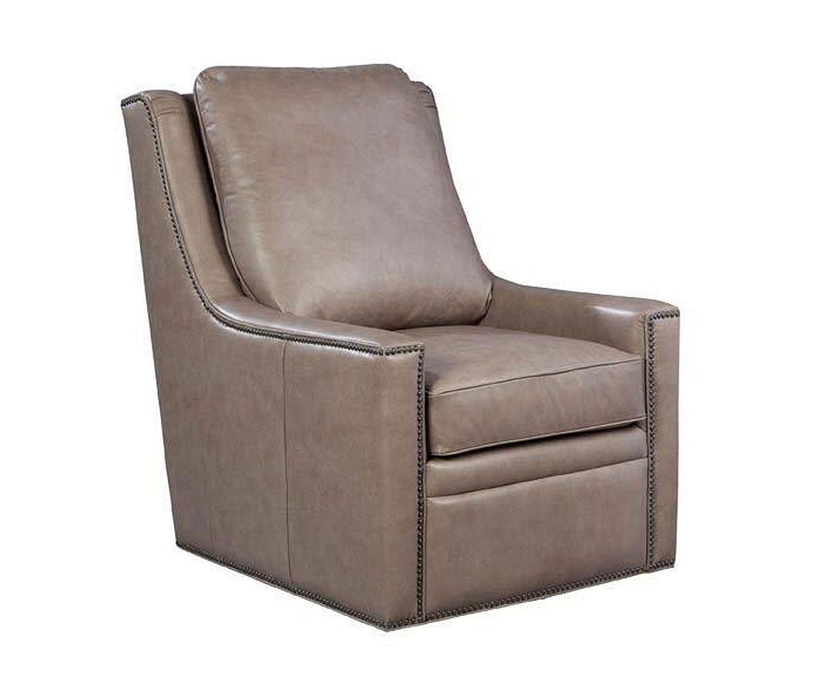small leather accent chairs folding beach canada dunbar quotquick ship quot contemporary 360 degree swivel