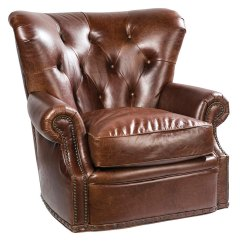 Down Wrapped Cushion Sofas Couch Or Sofa Tufted Leather Chesterfield Swivel Accent Chair | Club ...