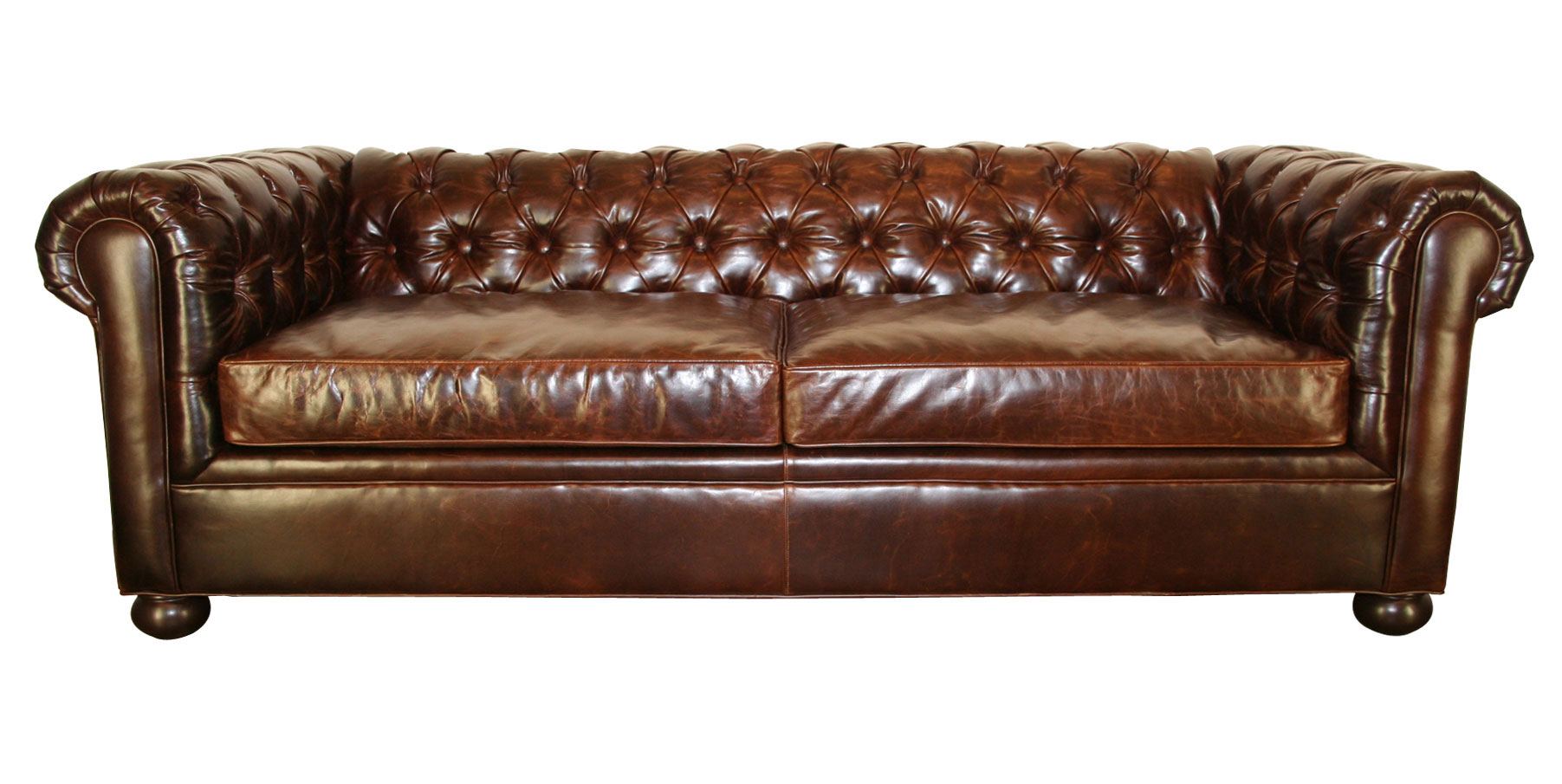 tufted club sofa recliner 2 seater covers leather chesterfield living room furniture