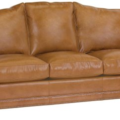 Sofa Nailhead Factory Outlet Uk Leather Camel Back With Trim Club Furniture