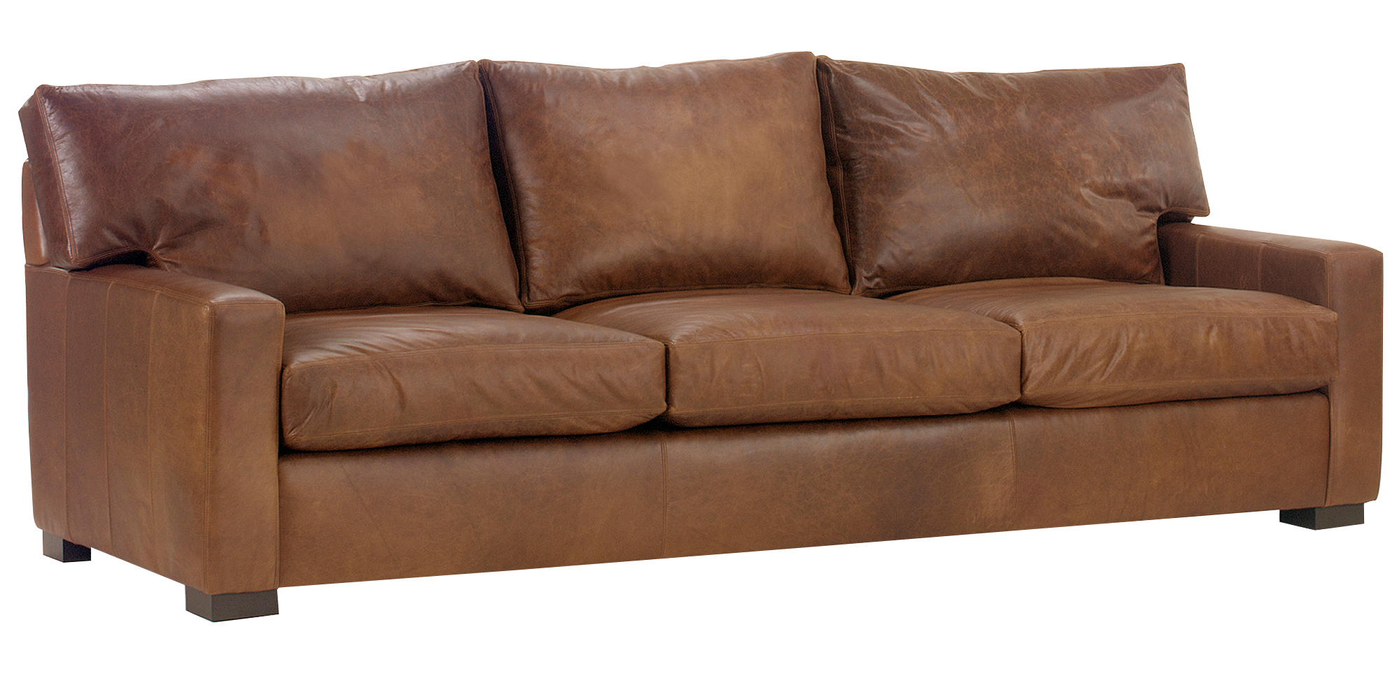 oversized leather sofa nc paula deen craftmaster reviews contemporary furniture with track arms