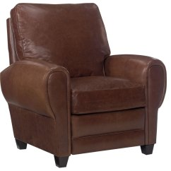 Big And Tall Recliner Chair Black Directors Back Leather Cigar