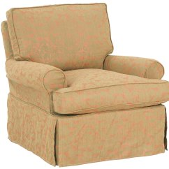 Swivel Accent Chairs Reclining Deck Chair Upholstered Glider Rocker Slipcovered