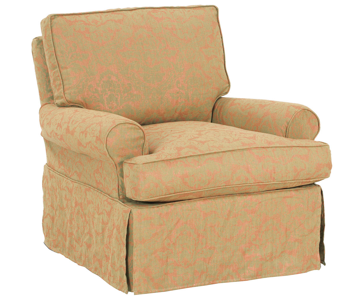 Swivel Glider Chairs Upholstered Swivel Glider Rocker Slipcovered Accent Chairs
