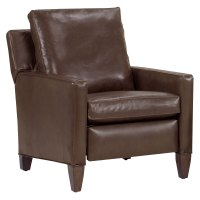 "Alvin ""Designer Style"" Tall Leg Leather Reclining Chair ..."