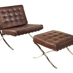 Modern Leather Accent Chairs Hanging Chair For Inside Button Tufted Mid Century W Optional